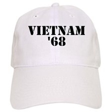 Vietnam 1968 Baseball Cap