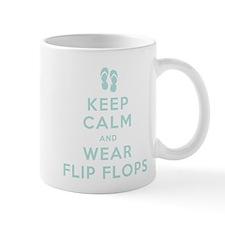 Keep Calm and Wear Flip Flops Mug