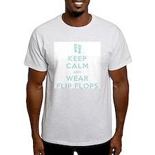 Keep Calm and Wear Flip Flops T-Shirt