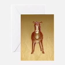Velvet-Rabbit 5 Greeting Card
