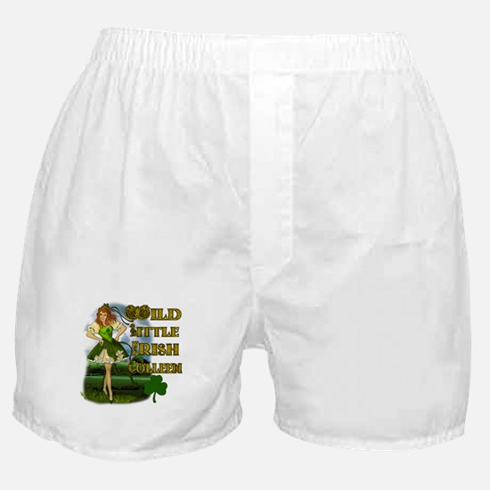 Wild Little Irish Colleen Boxer Shorts