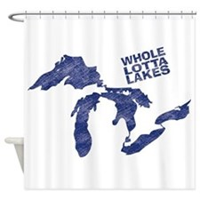 lakes1 Shower Curtain
