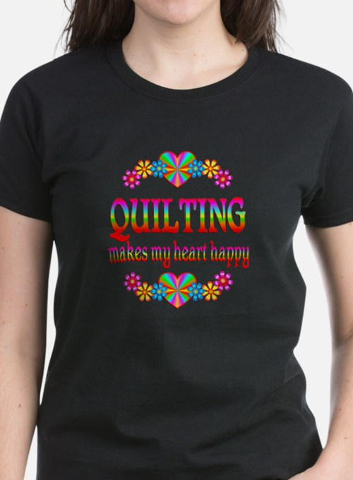 Quilting Happy Tee