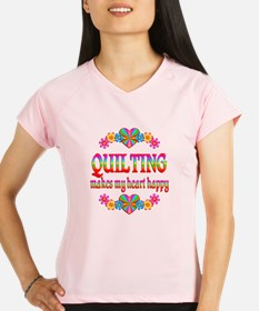 Quilting Happy Performance Dry T-Shirt
