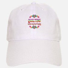 Quilting Happy Baseball Baseball Cap
