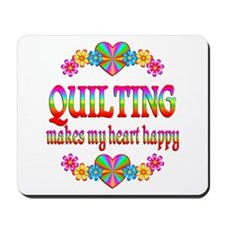 Quilting Happy Mousepad