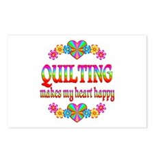 Quilting Happy Postcards (Package of 8)
