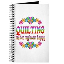 Quilting Happy Journal