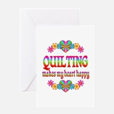 Quilting Happy Greeting Card