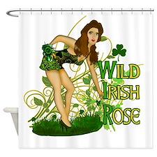 Wild irish Rose Shower Curtain