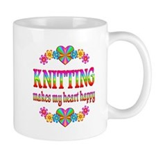 Knitting Happy Mug