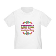 Knitting Happy T