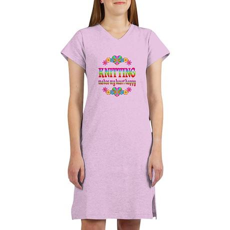 Knitting Happy Women's Nightshirt