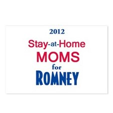 Romney MOMS Postcards (Package of 8)