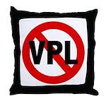 Ban VPL (Visible Panty Line) Throw Pillow