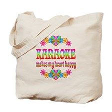 Karaoke Happy Tote Bag