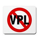 Ban VPL (Visible Panty Line) Mousepad
