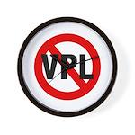Ban VPL (Visible Panty Line) Wall Clock