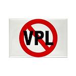 Ban VPL (Visible Panty Line) Rectangle Magnet