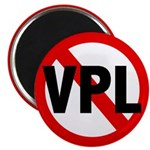 Ban VPL (Visible Panty Line) Magnet