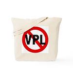 Ban VPL (Visible Panty Line) Tote Bag
