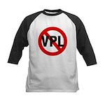 Ban VPL (Visible Panty Line) Kids Baseball Jersey