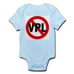 Ban VPL (Visible Panty Line) Infant Creeper