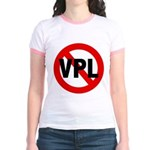 Ban VPL (Visible Panty Line) Jr. Ringer T-Shirt