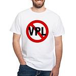Ban VPL (Visible Panty Line) White T-Shirt