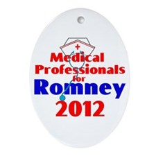 Romney MEDICAL PROFESSIONALS Ornament (Oval)