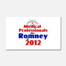 Romney MEDICAL PROFESSIONALS Car Magnet 20 x 12