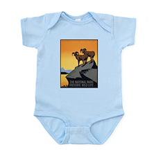 National Parks Preserve Wild Life Infant Bodysuit