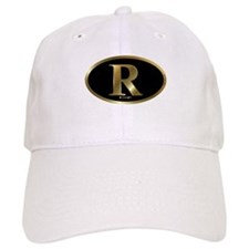 Gold R for Mitt Romney 2012 Baseball Cap