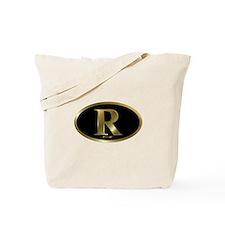 Gold R for Mitt Romney 2012 Tote Bag