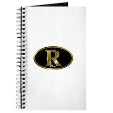 Gold R for Mitt Romney 2012 Journal