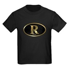 Gold R for Mitt Romney 2012 T