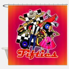 Fabulous Fifites memories Shower Curtain