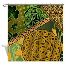 Irish Celtic Knotwork Shower Curtain