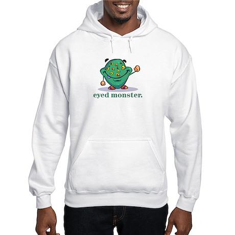Green Eyed Monster Hooded Sweatshirt