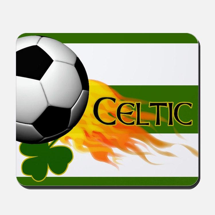 Celtic Irish Football Mousepad