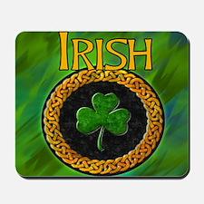 Celtic Irish Shamrock Mousepad