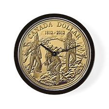 1812 Dollar Wall Clock