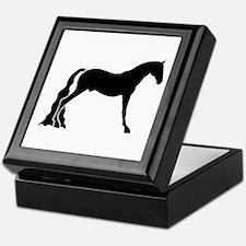 saddle horse Keepsake Box