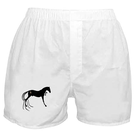 Native Spirit Horse Boxer Shorts