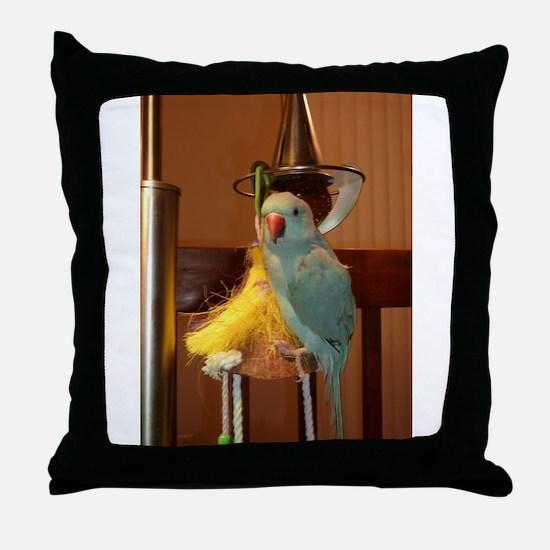 Unique Parakeet Throw Pillow