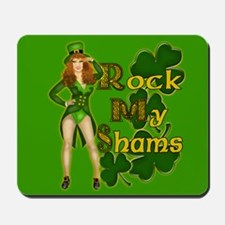 Rock my Shams Irish Mousepad
