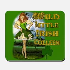 Wild Little irish Colleen Mousepad