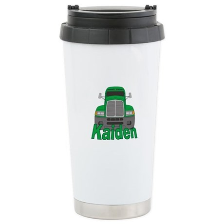 Trucker Kaiden Stainless Steel Travel Mug