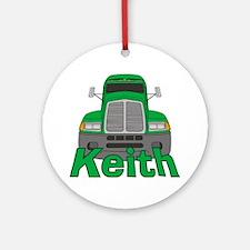 Trucker Keith Ornament (Round)