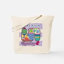 Snake River Wyoming Tote Bag